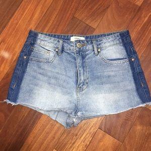 F21 High waisted short shorts